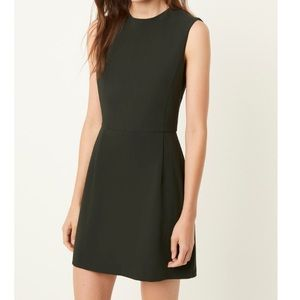 French Connection High Neck Sheath Mini Dress